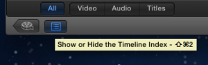 Show or hide timeline index