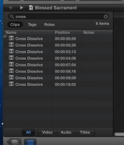 All transitions to delete